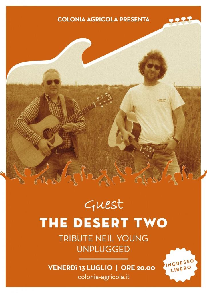 Desert Two fronte