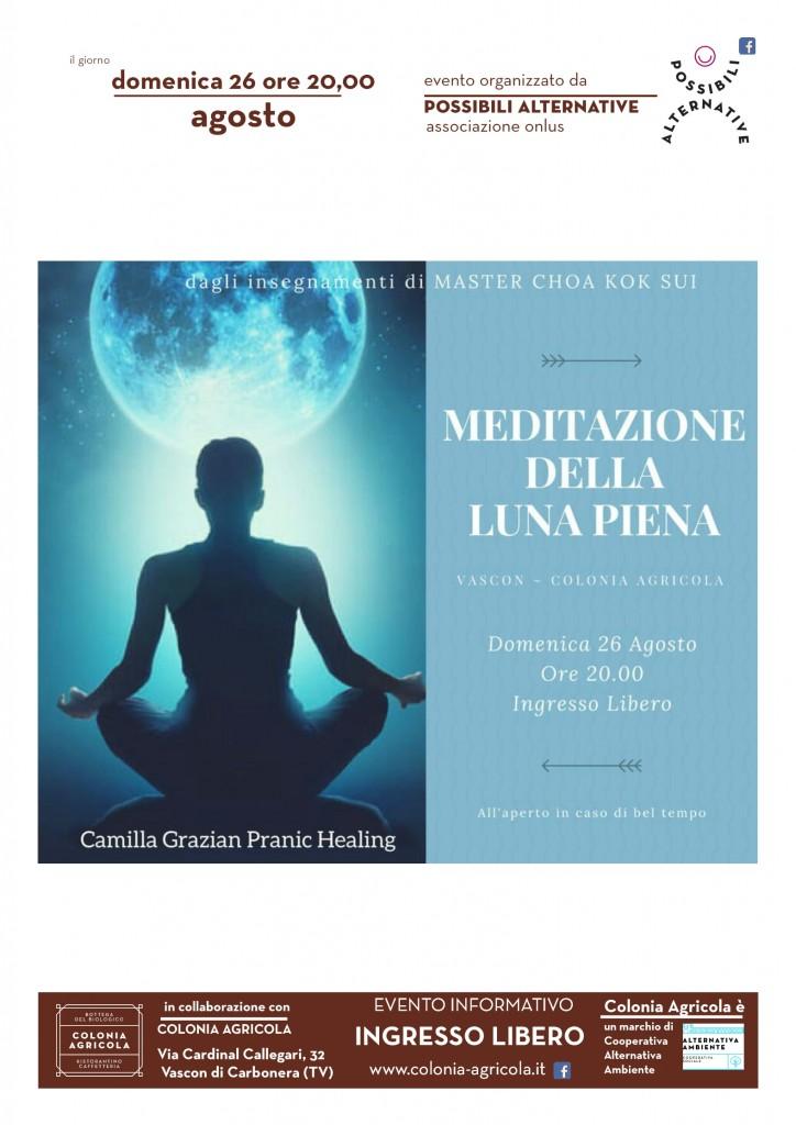 Meditazione cuori gemelli Volantino