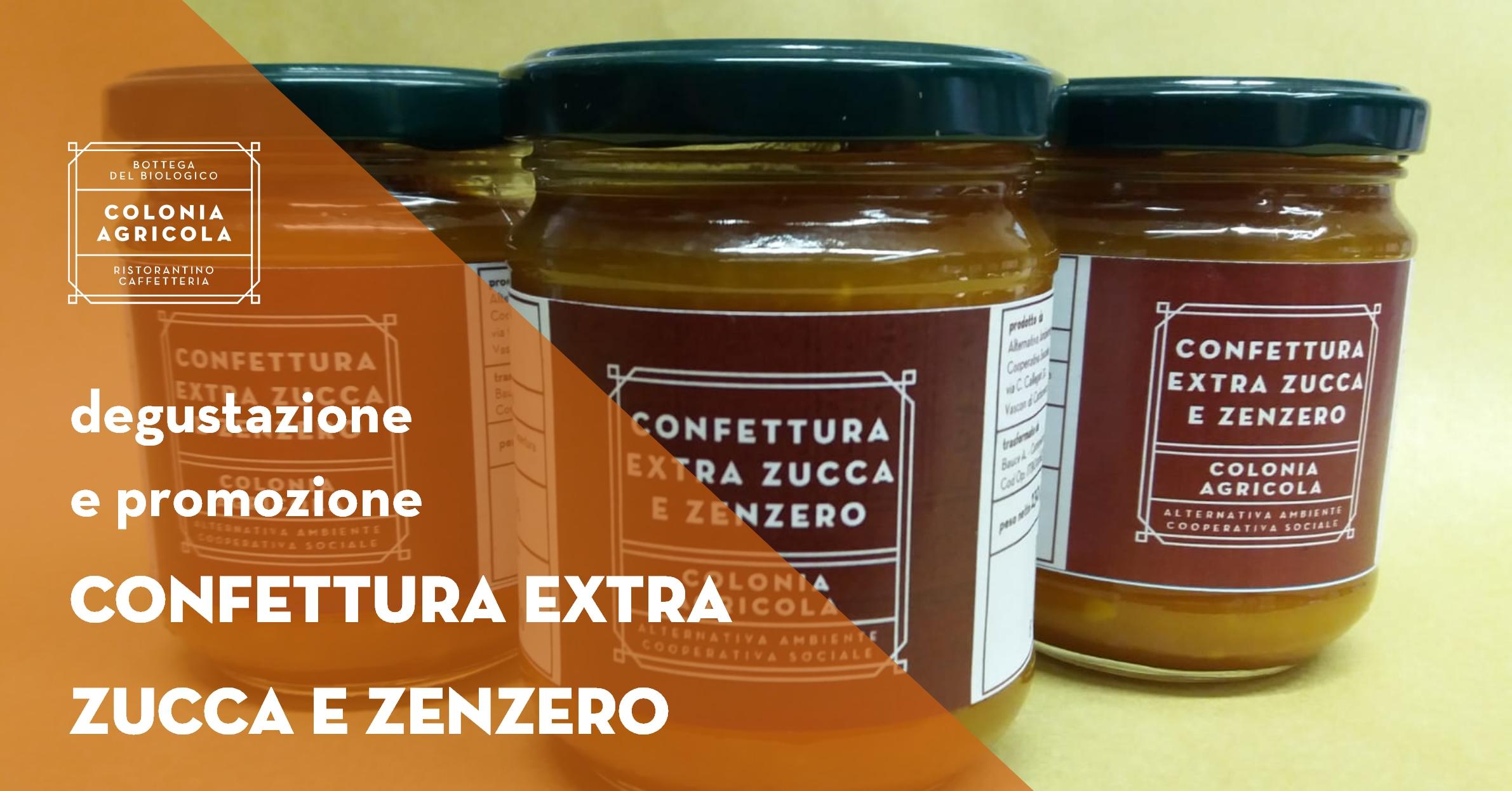 Confettura Zucca e Zenzero Social