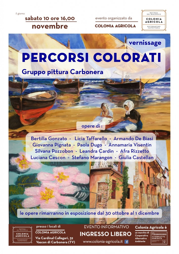 Vernissage Percorsi Colorati