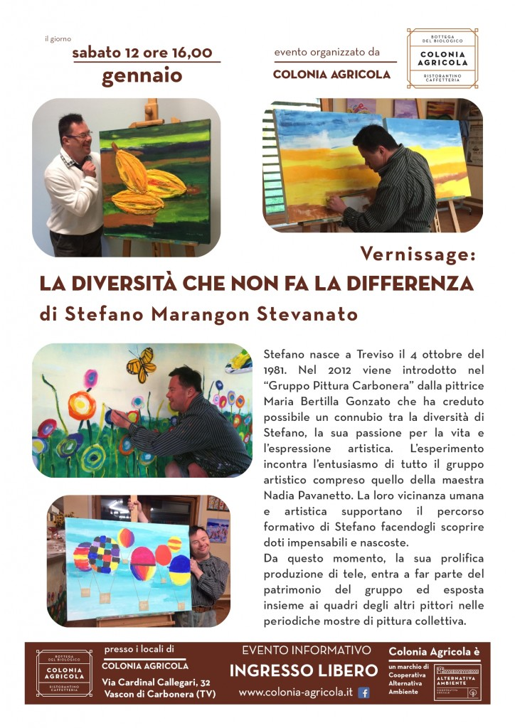 "Vernissage:"" La diversità che non fa la differenza"""