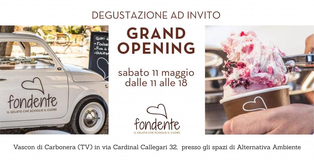 Gelato Fondente Grand Opening