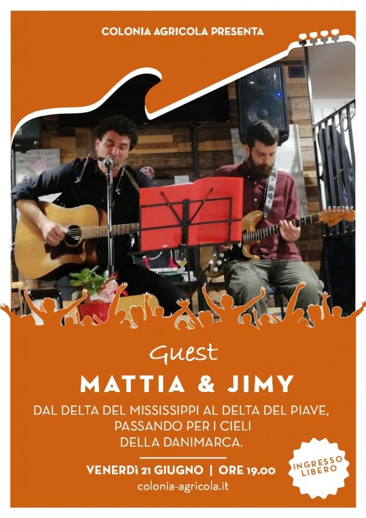 MATTIA & JIMY fronte