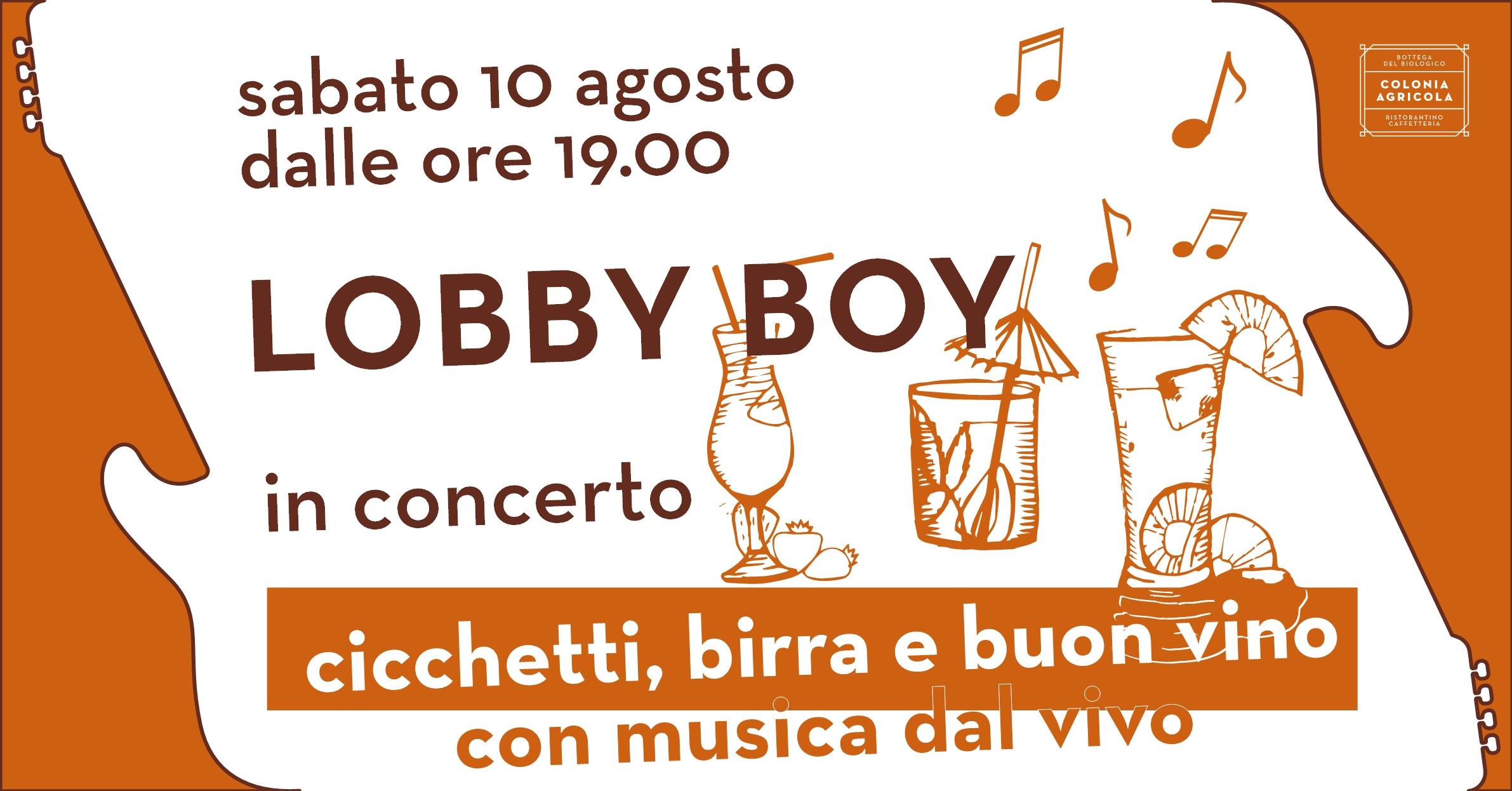 Lobby Boy concerto copertina