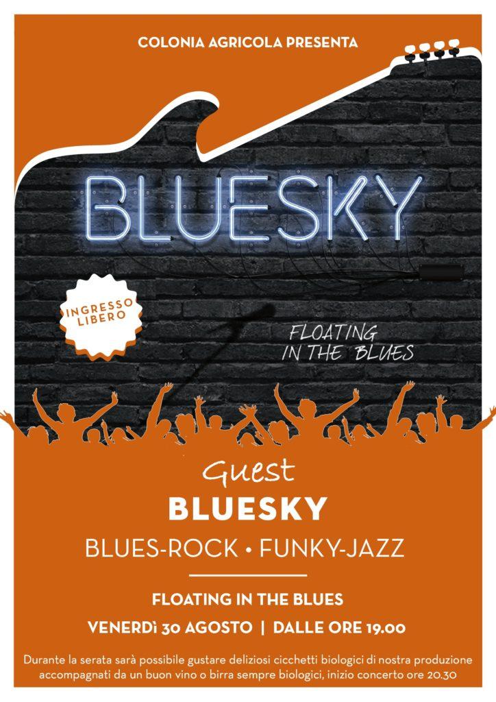 Concerto Bluesky fronte