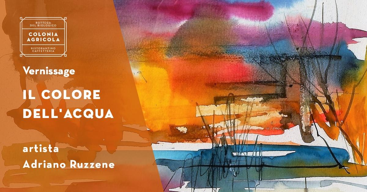Vernissage Ruzzene Adriano Copertina