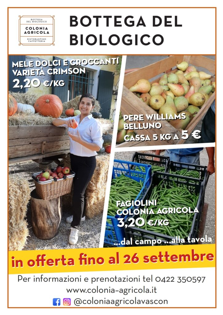 Promo Mele Fagiolini Pere