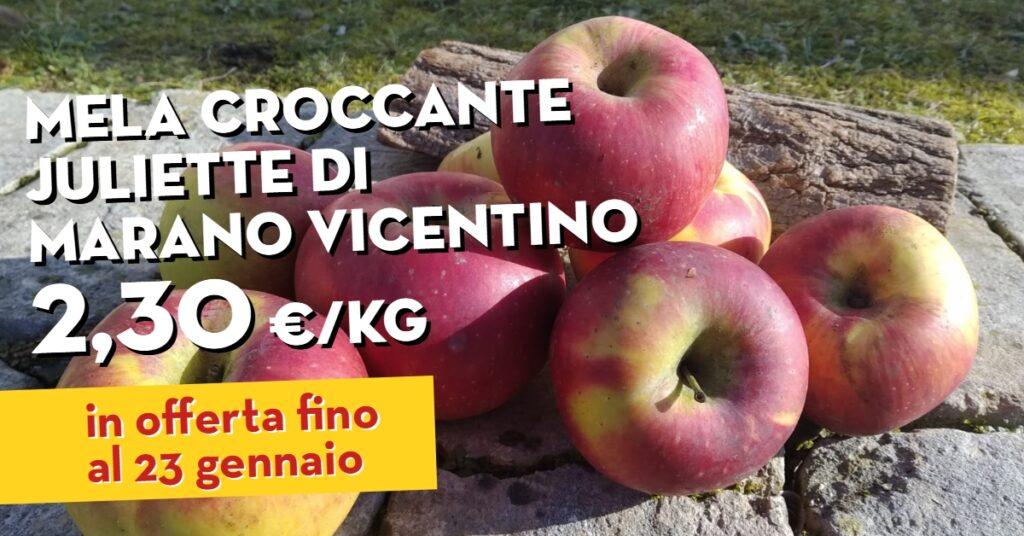 mele croccanti Juliette di Marano Vicentino