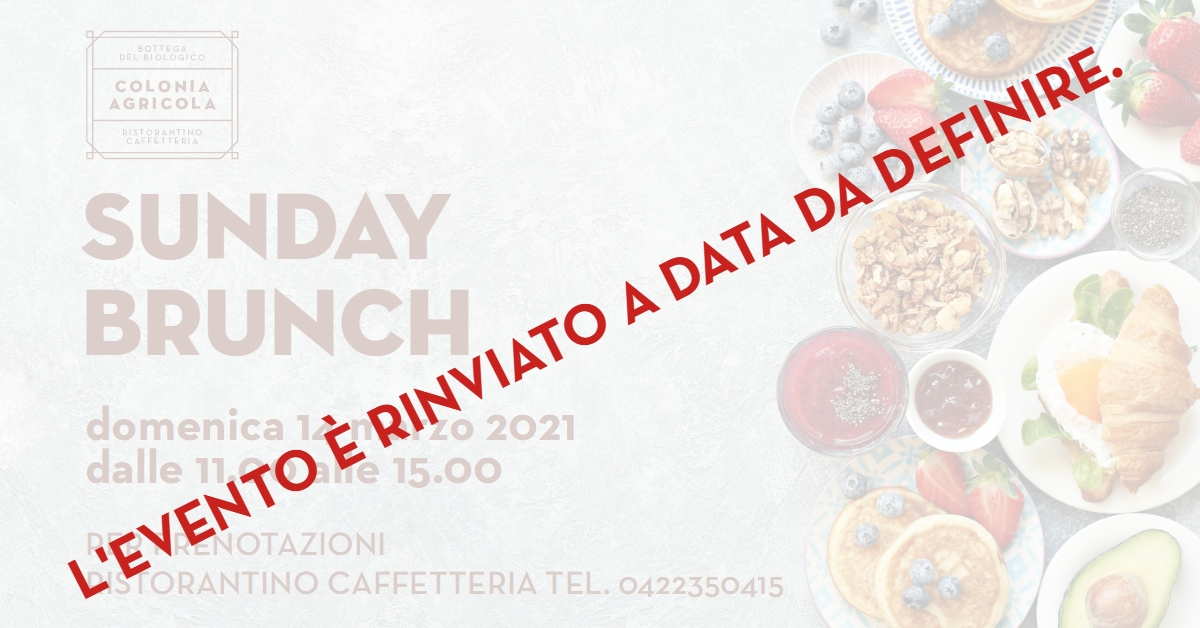 Sunday Brunch Colonia Agricola