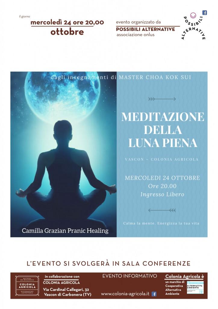 Meditazione Luna Piena Volantino