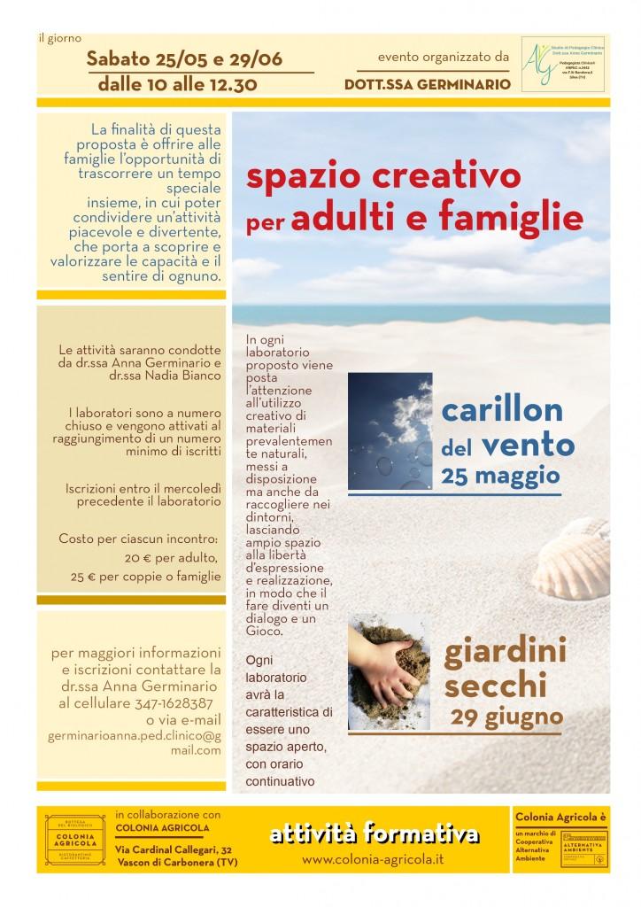 Spazio creativo per adulti e famiglie