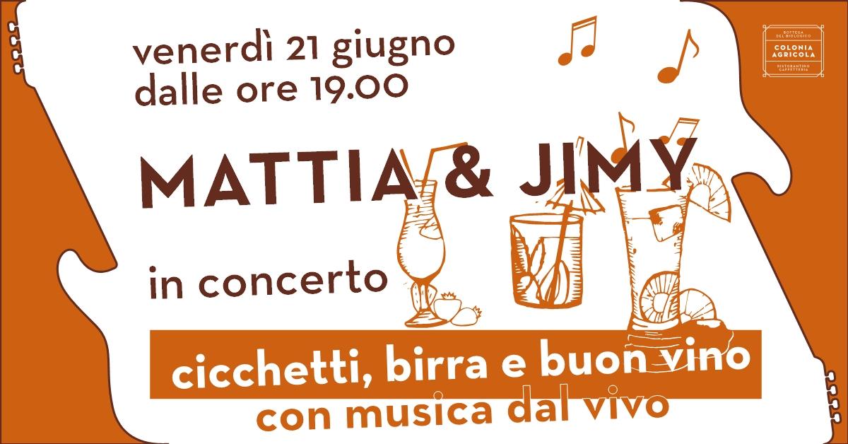 Mattia & Jimy concerto copertina