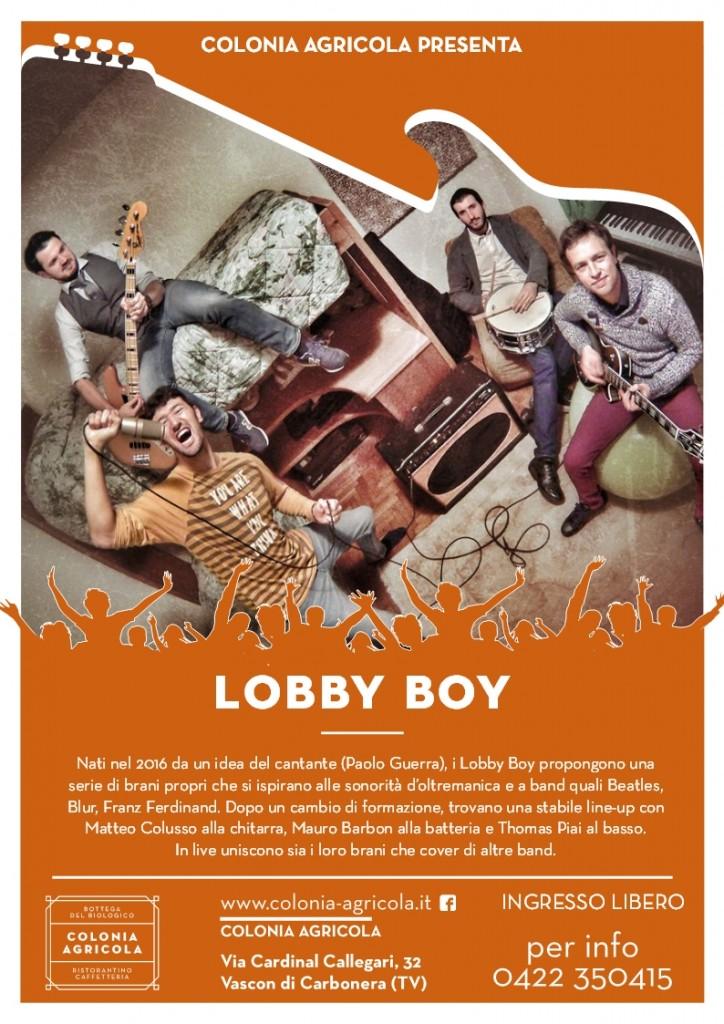 Lobby Boy retro