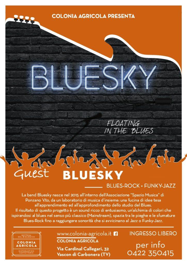 Bluesky in concerto retro