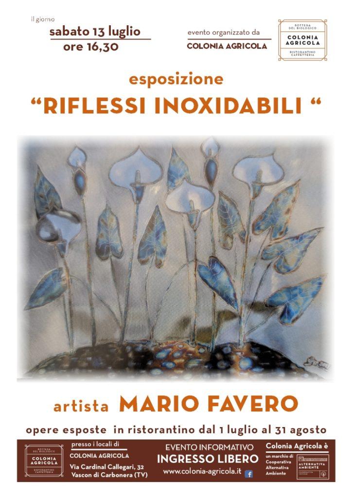 "Mario Favero ""Riflessi inoxidabili"""