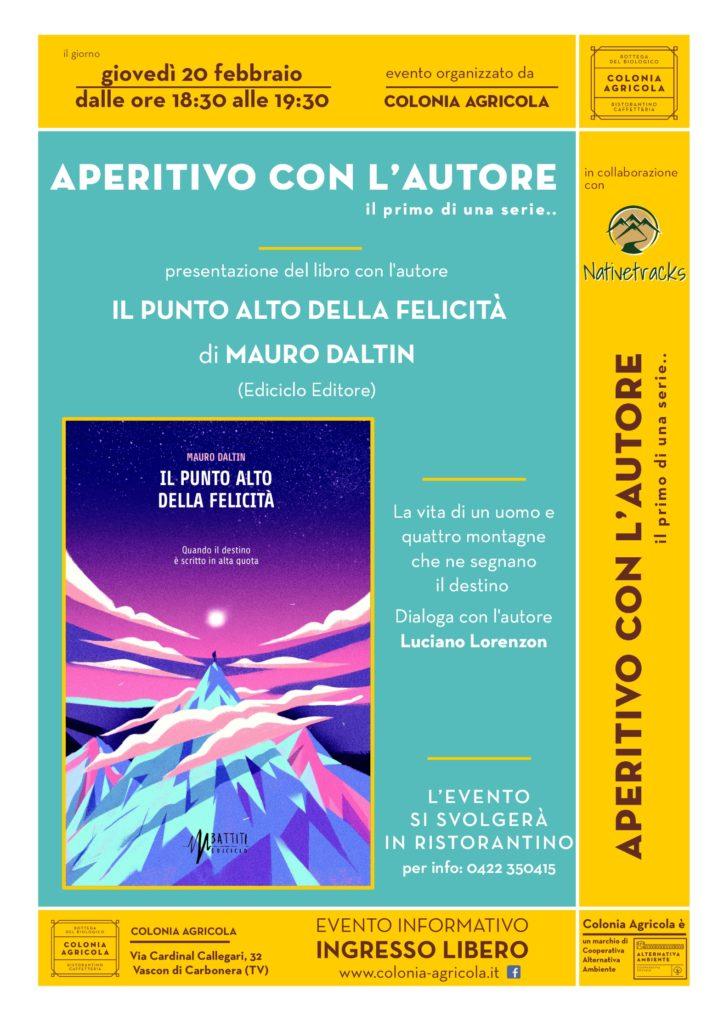 aperitivo con l'autore Mauro Daltin
