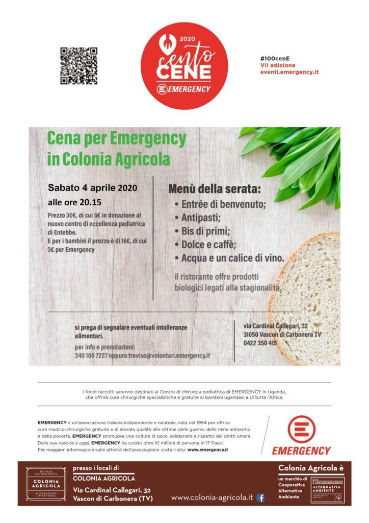 100cene-per-emergency Colonia Agricola