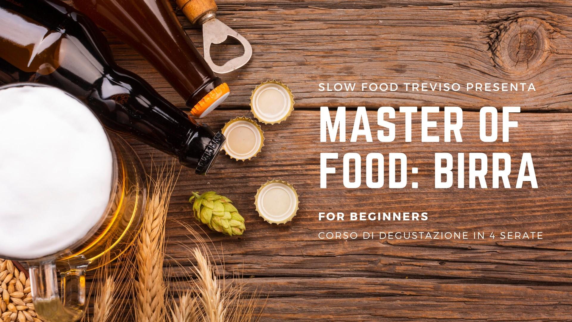 Master of food: birra