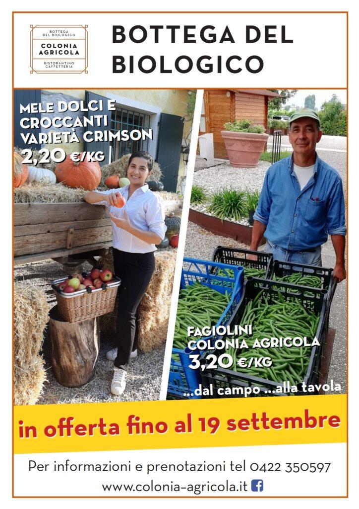 Mele Crimson e fagiolini Colonia Agricola