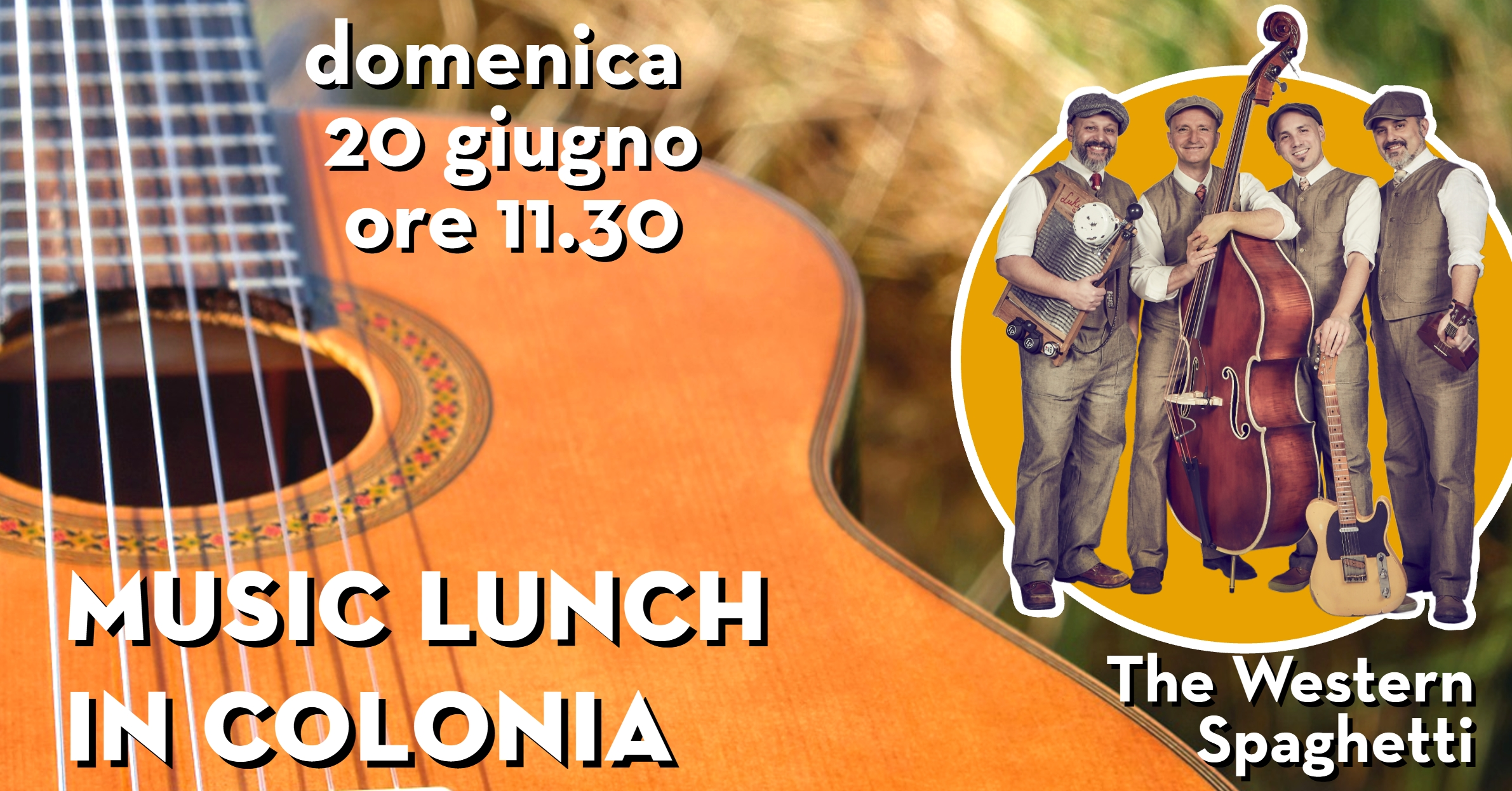 MUSIC LUNCH IN COLONIA