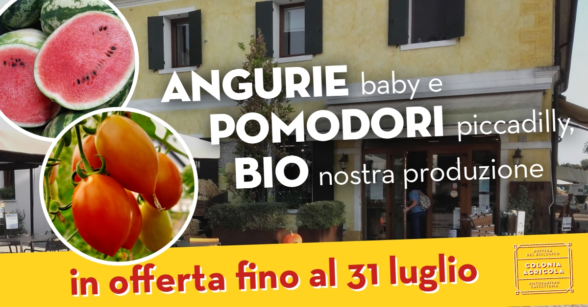 Angurie baby e pomodori Piccadilly in offerta
