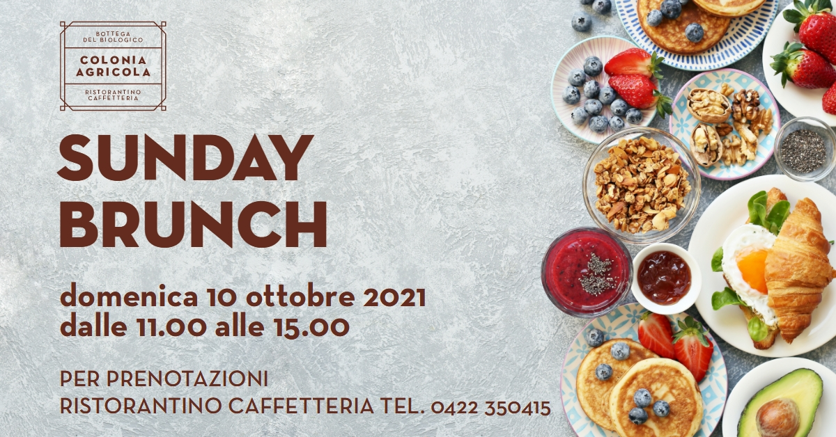 Sunday Brunch in colonia Agricola